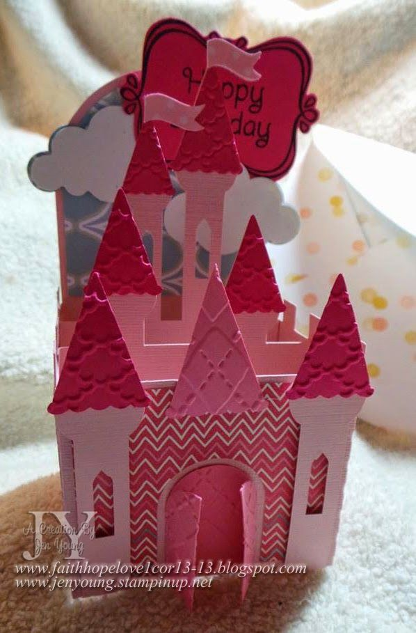 Creating in Faith, Hope and Love...: Castle in a Box Card