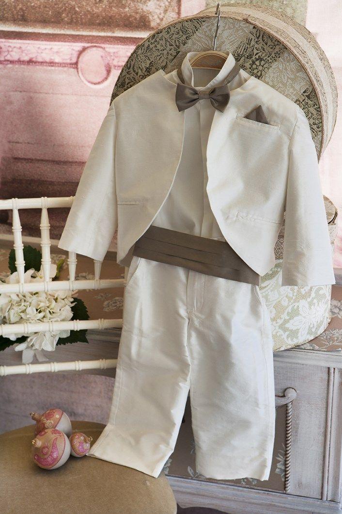 Christening Suit Baptism Suit  Sty.No G 1010-1 www.babyhautecouture.com