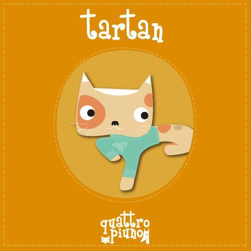 Ecco a voi l'avventuroso gattino Tartan! #adorable #cat