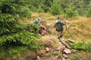 revitalizace rašeliniště Krušné Hory