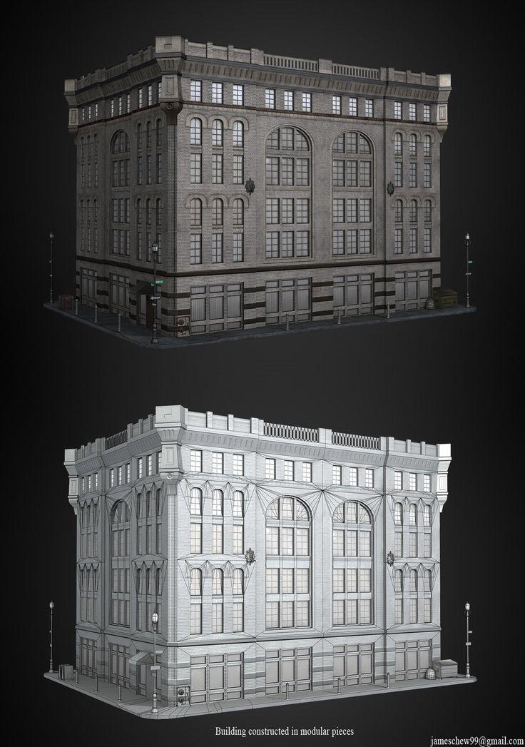 pin  maid telalovic  game props  building models building environment concept art