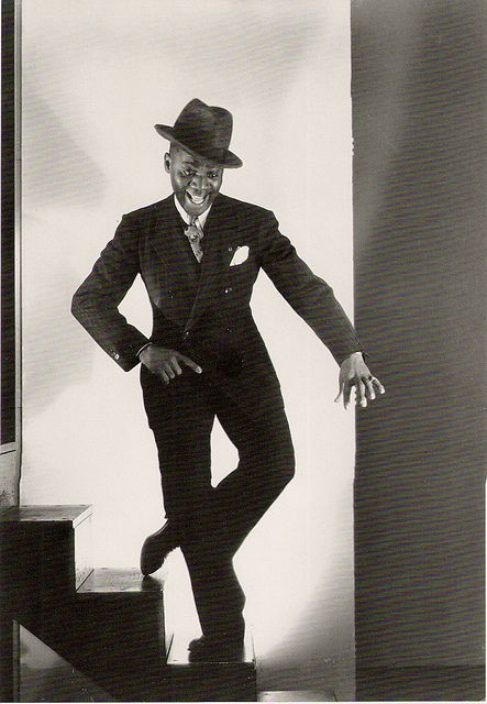 """Mr Bojangles, 1935    Bill (""""Bojangles"""") Robinson, phtographed by George Hurrel. This song is going to be in my head all day, that's cool."""