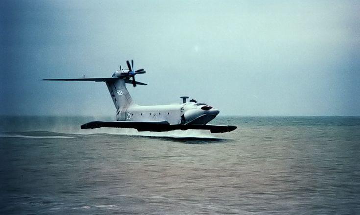 Ekranoplano A-90 Orlyonok | Plano Brasil | Versão Mobile