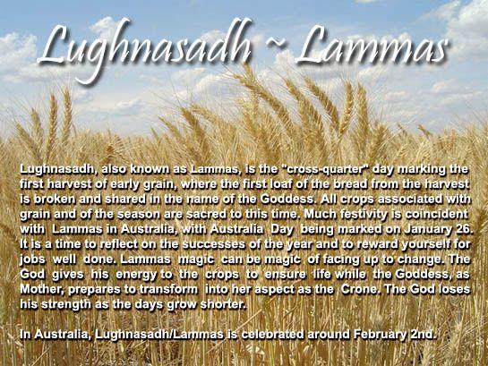 Lammas Lughnasadh