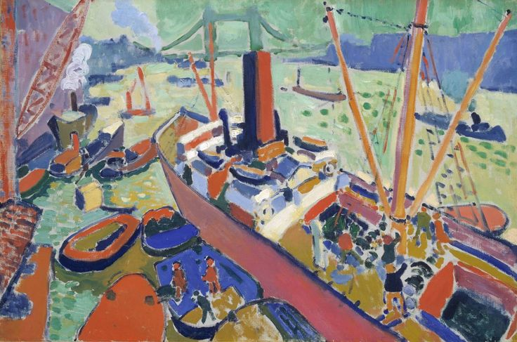 André Derain, 'The Pool of London' 1906