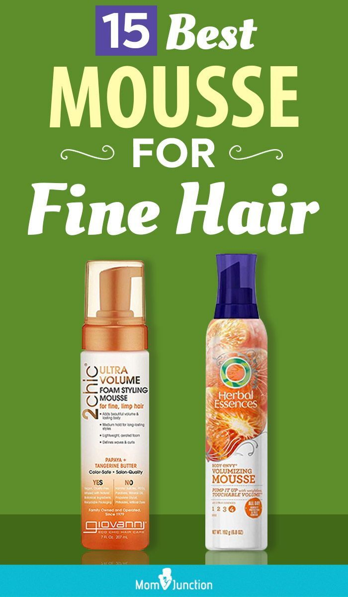 15 Best Mousse For Fine Hair In 2020 In 2020 Volumizing Hair Mousse Fine Hair Hair Mousse
