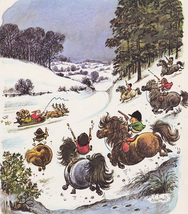 Classic Christmas thelwell