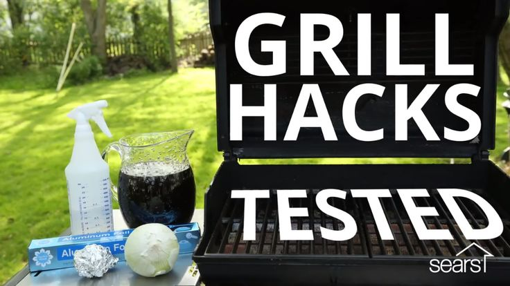 There are a lot of hacks out there — but do they really work? We're going to test three grill cleaning hacks for you to find out! First up, using coffee to clean grill grates and utensils. Next, we'll text using an onion to clean grill grates. Lastly, we'll try using vinegar and aluminum foil to clean grill grates. Visit the Sears Home Services blog for more hacks tested!