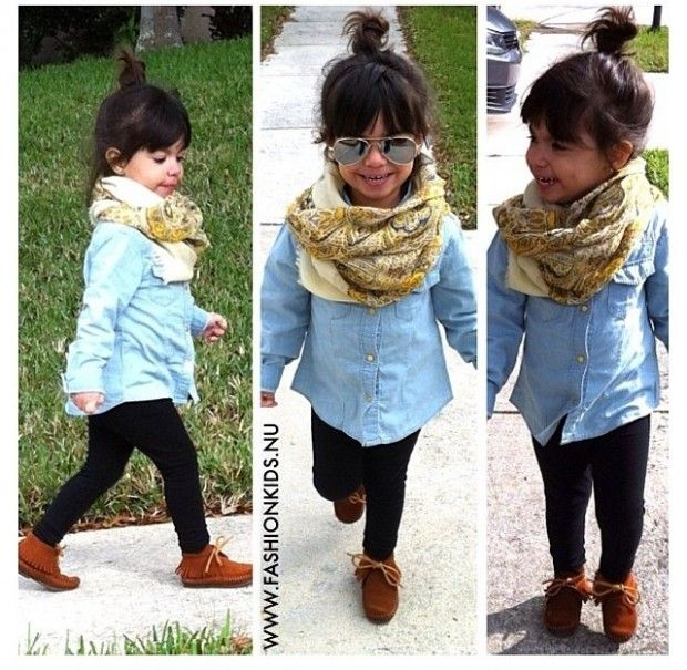Decided: My children will be dressed this stylishly