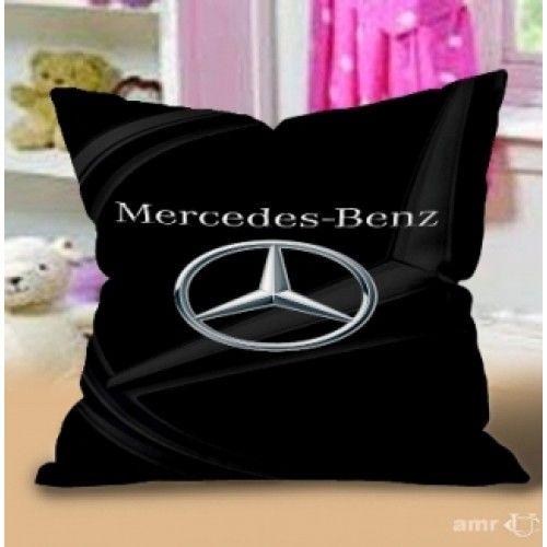 Sell Mercedes Benz Print Black Design Art Pillow Case Cheap $23.98