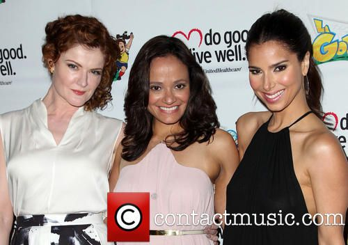 Rebecca Wisocky, Judy Reyes and Roselyn Sanchez