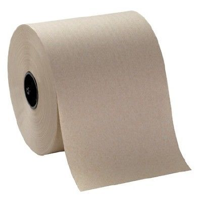 Georgia Pacific Hardwound Roll Paper Towels 7 4/5 x 1000ft Brown 6/Pack 8 Packs
