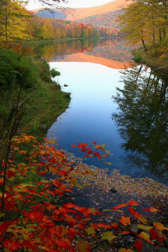 Autumn at the Catskills, New York #NewYork