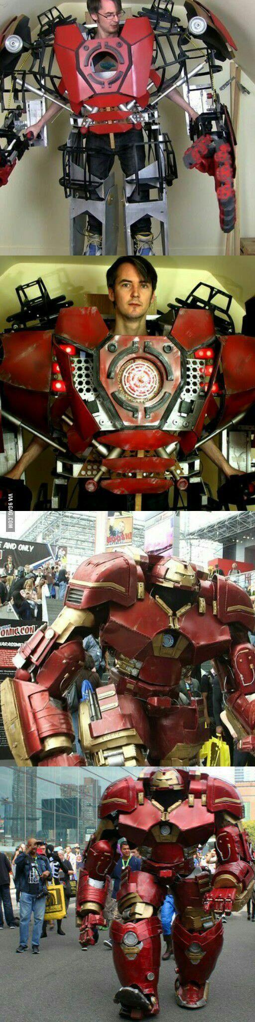 Epic Ironman cosplay