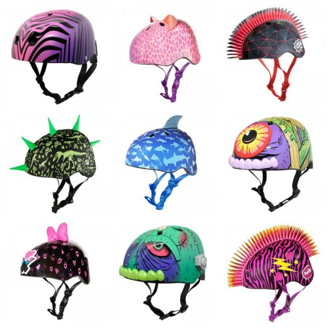 Getting kids to wear their helmets can be hard.  Find cool ones so it's not just safe but fun to wear! MomAlwaysFindsOut.com