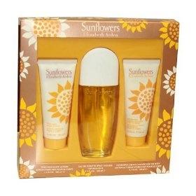 Sunflowers By Elizabeth Arden For Women. Set-edt Spray 3.3 Ounces & Body Lotion 3.3 Ounces & Cream Cleanser 3.3 Ounces $18.95...