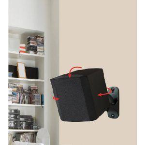wall shelves for surround sound speakers dise o oficina estudio rh pinterest com surround sound speaker bracket surround sound speaker mount