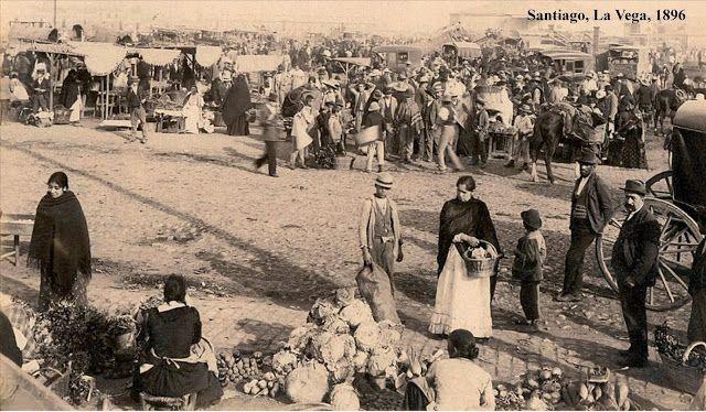 Santiago, Chile, la Vega, 1906