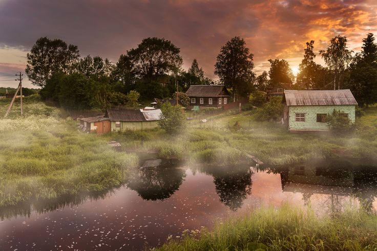 Morning in the village... by Ed Gordeev on 500px
