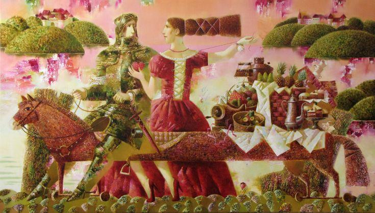 El Hurgador [Arte en la Red]: Mujeres al pincel (XV) - Berezovskaya, Shuai Mei