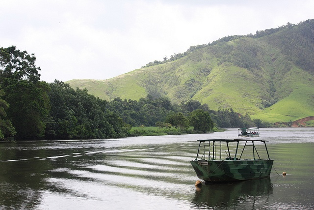 Solar-powered boat, Daintree River, Qld. by jemasmith, via Flickr