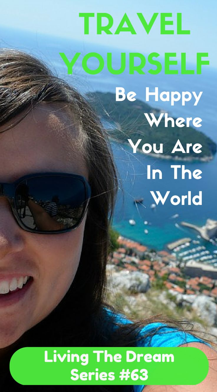 Cailin is a video blogger. How cool is that? Back in 2009 she filmed the big La Tomatina festival in Spain and has never looked back. For her Living The Dream is being happy where ever you are in the world.