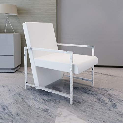 Amazing Offer On Festnight Modern Tub Chair Leather Upholstery