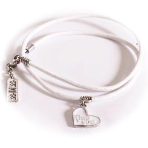 браслет с сердцем чармы  bracelets