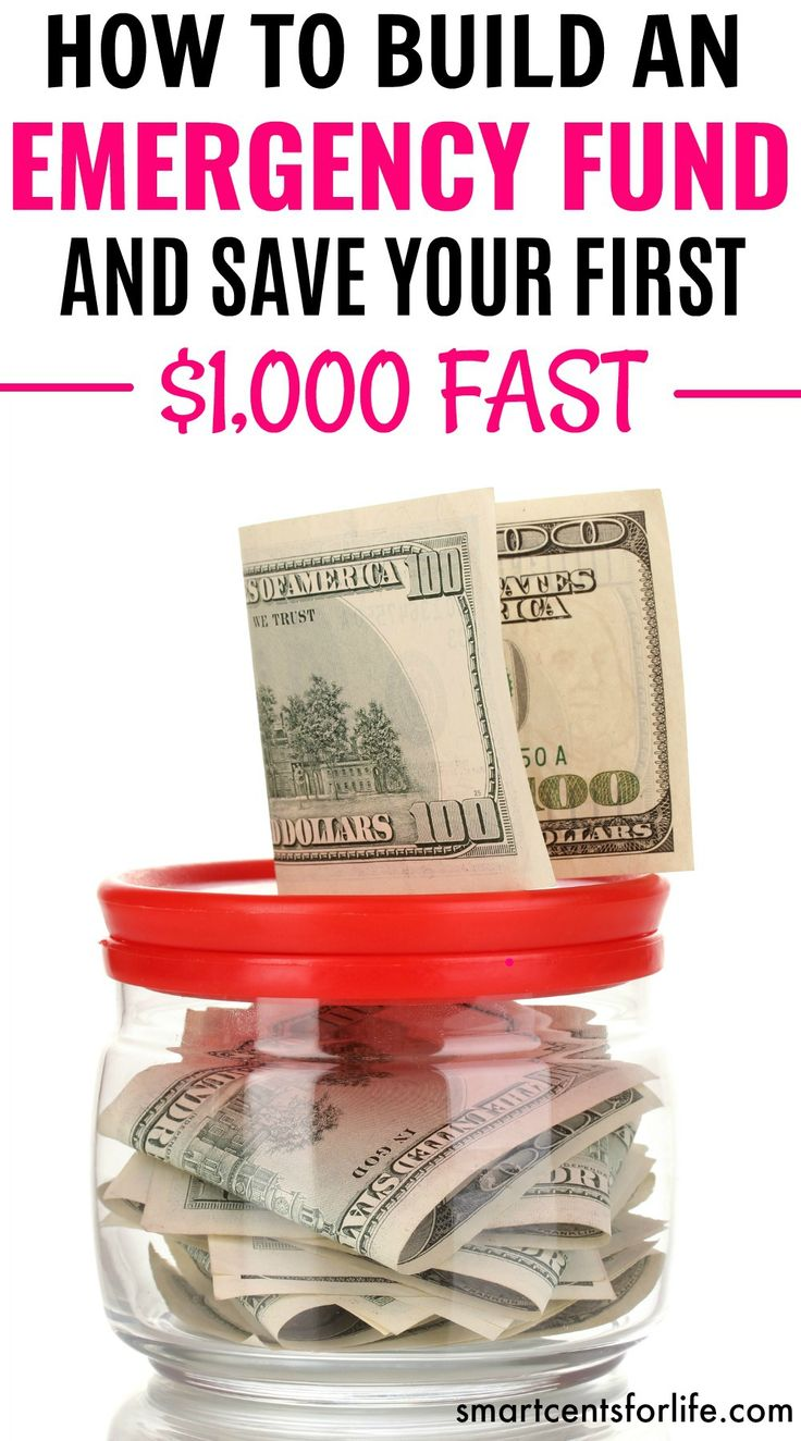 Learn how to effectively build an emergency fund. Follow these tips and ideas and save your first $1000 emergency fund fast! Save money for those unexpected expenses in your life, to get out of debt or for any other financial goal. Save Money | Personal Finance | Getting Out of Debt | Personal Finance | Money Challenge |