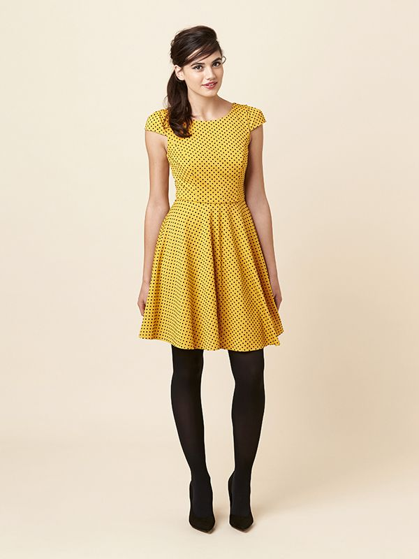 The Shayla Dress from Review  #spots