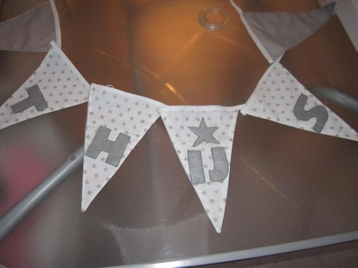 geboorteslinger Thijs Made by Mussie