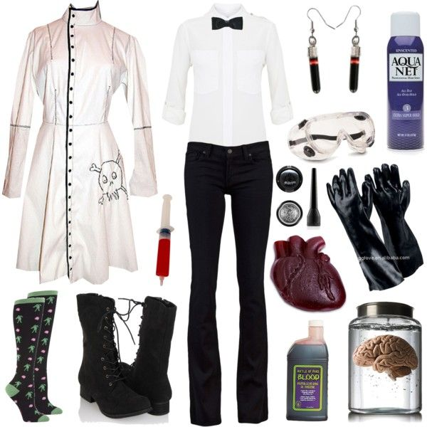 "PERFECT for Jekyll and Hyde!! ""Mad Scientist"" on Polyvore    Jekyll and Hyde - December 4-16"