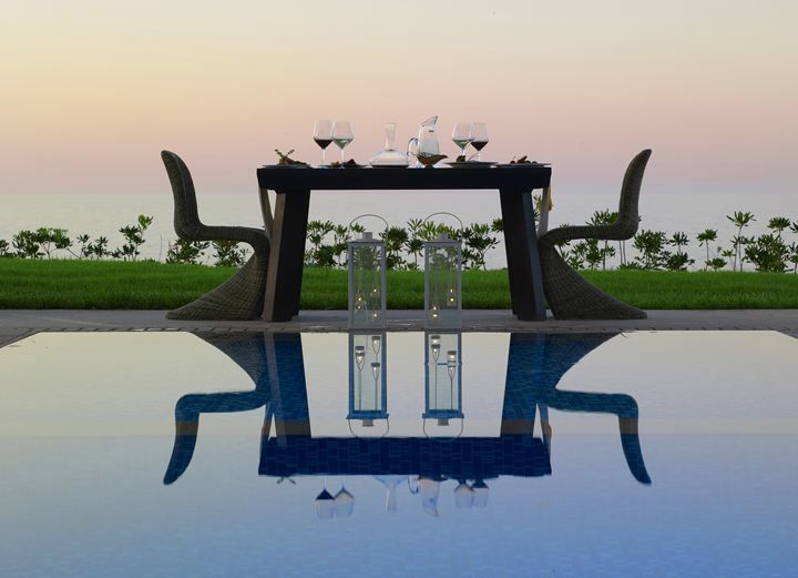 SENSIMAR ROYAL BLUE RESORT & SPA Amazing private dining experience!