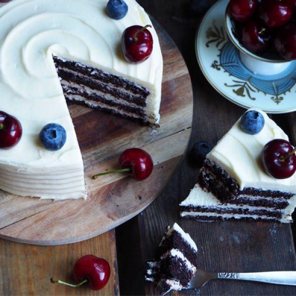 Hei hei hallooo! Her kommer enda en 17.mai oppskrift. Eller, denne kaken bør du lage uansett:) Det som er viktig...