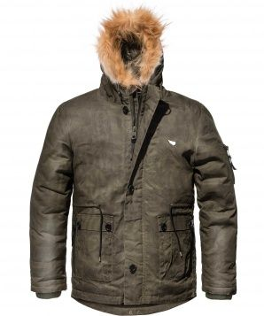 ARMOURED COOL CLIMATE PARKA