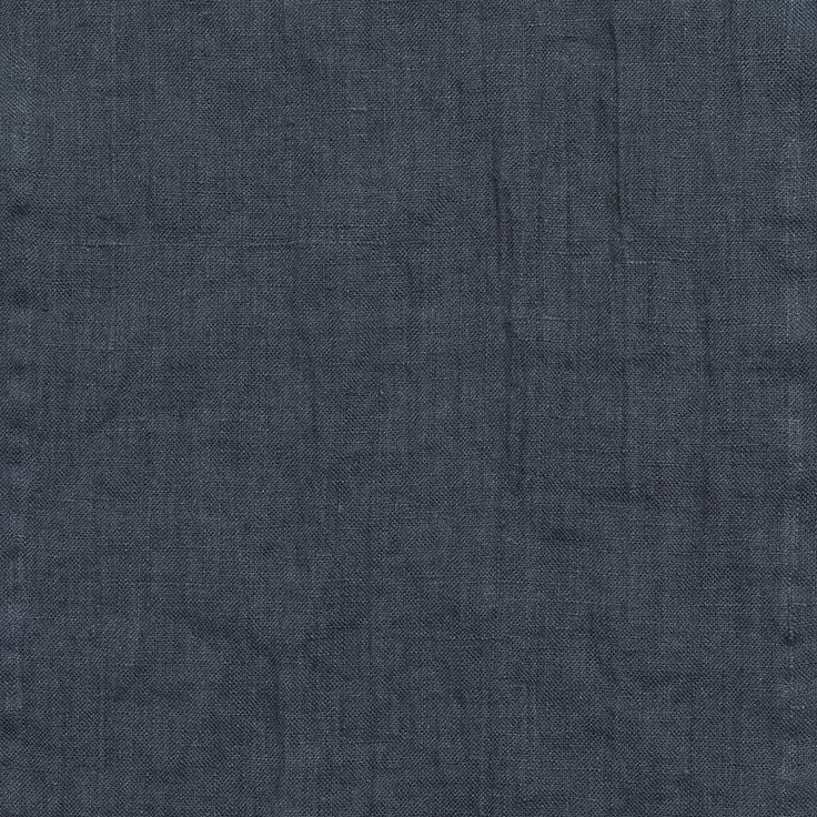 Linen duvet cover faded blue