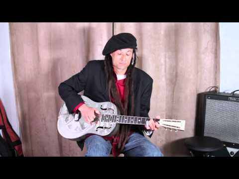 Blues Slide Guitar Tuning - Open G Tuning for Slide Guitar and basic lesson - YouTube