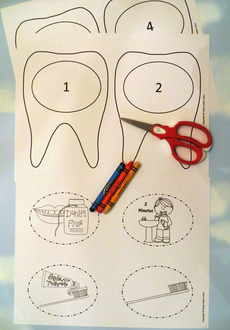 Printable Dental Health Teeth