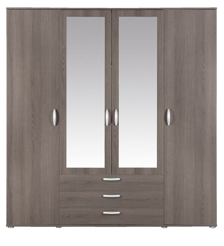 Leen Bakker - €299,- [Linnenkast Milaan 4-deurs] DIY: Middelste stuk ombouwen tot hanggedeelte? #kledingkast