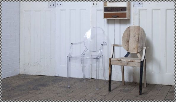 louis-ghost-chairDoors, Rupert Blanchard, Gift, Homemade Furniture, Ghosts Crates, Furniture Design, Crates Chairs, Louis Ghosts Chairs, Beautiful Things