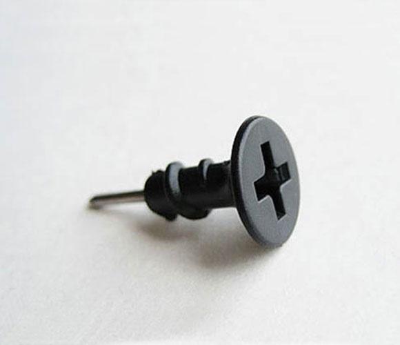 Screw Push Pins: Crafts Ideas, Creative Pushpin, Cubicles, Push Pin, Corks Boards, Screw Pin, Screw Earrings, 螺絲釘圖釘 Screw Push, Smart Ideas