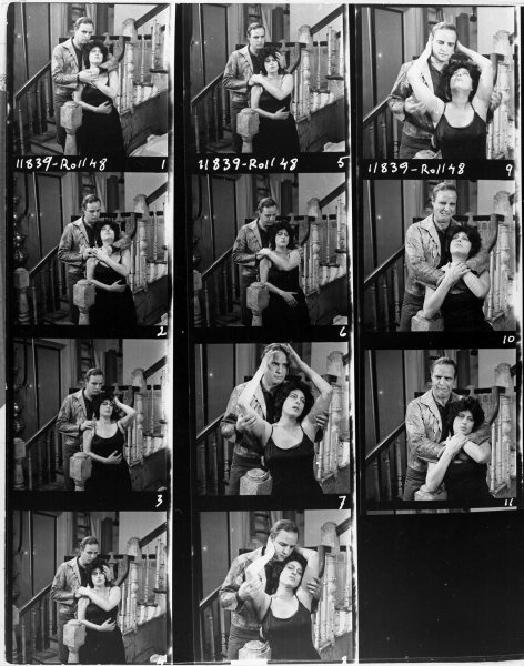 Marlon giving Anna Magnani a hard time during the publicity stills shoot for The Fugitive Kind.  I love #10 and #11…She looks so pissed off. Heh!