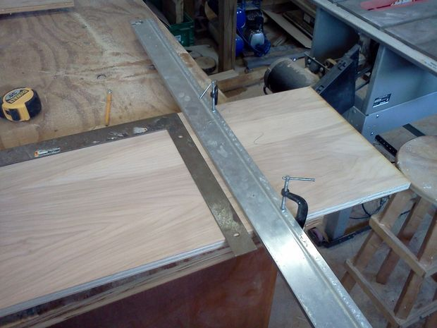 Building and Installing Drawer Fronts and Finish Surfaces