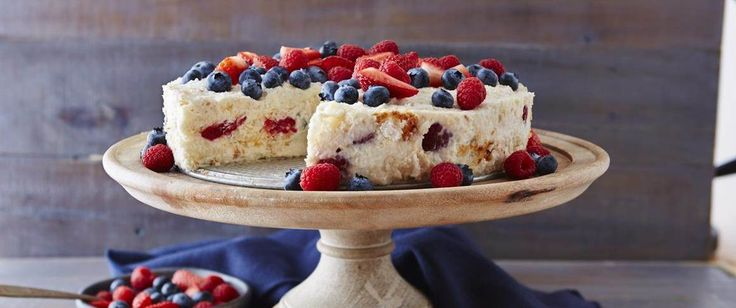 From Betty's Soul Food Collection...   It's the berries - and the angel food cake - that create this impressive, easy dessert.