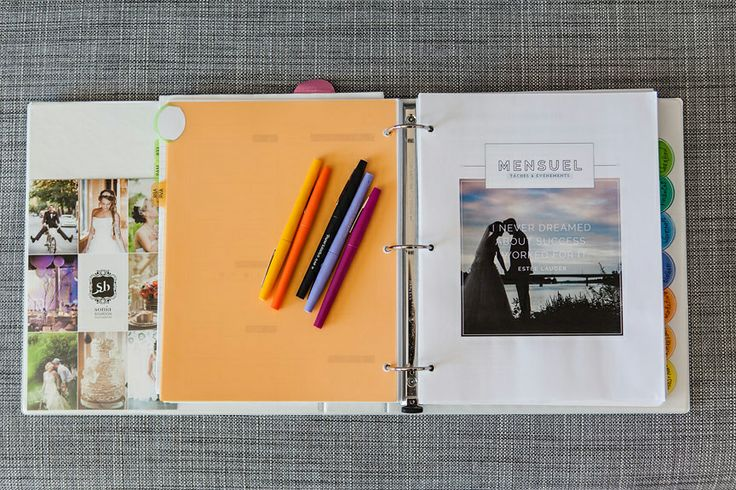 organizing your photography business (and personal) life with the big picture planner #designaglow