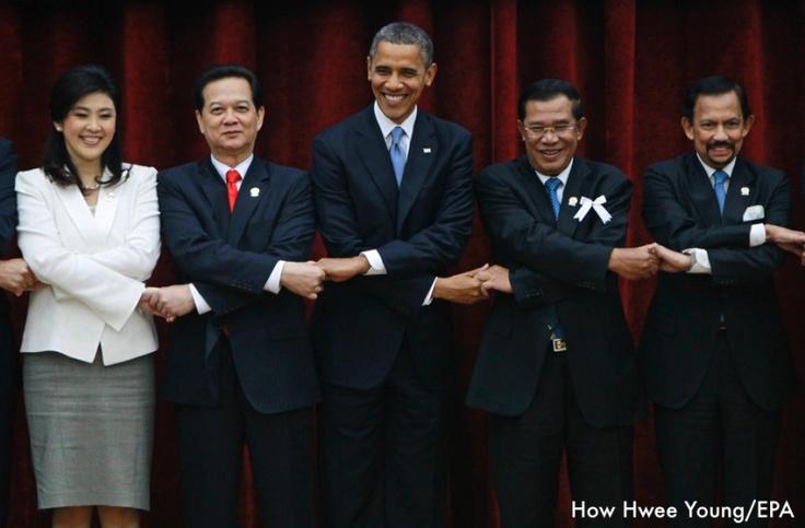 Monday's Photo Potpourri: The President, Barack Hussein Obama, Makes History.