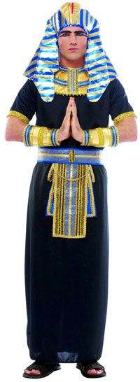 Pharoah Costume Available for RENTAL; not manufactured anymore; www.costumepartyms.com