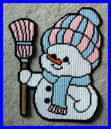 Wall Hanging - Baby Snowman