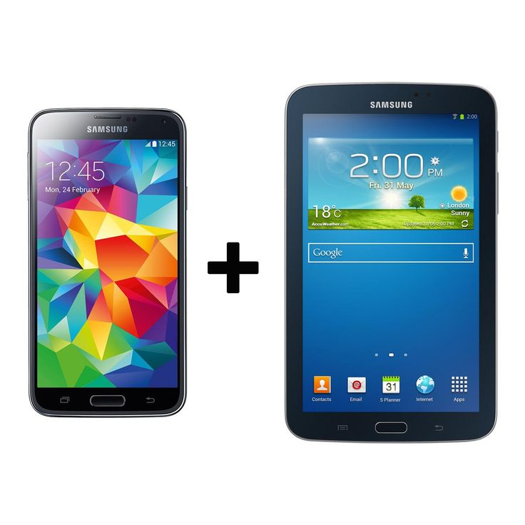 """FREE #Tab3 7"""" when you buy the #SamsungGalaxyS5 !"""