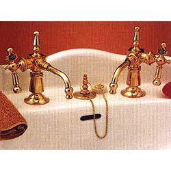 Strom Plumbing Fuller Faucet Set Old Hollywood Bathroom